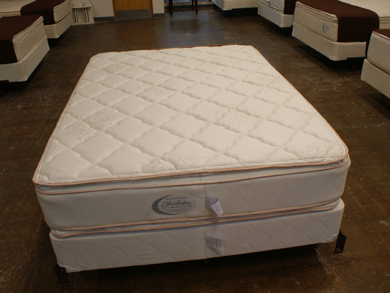 Low Cost Full Restonic Comfort Care Select Danby Firm Mattress Set